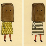 paper-bag-on-head-drawing-with-paper-bag-head-kate-pugsley-art-inspiration-pinterest
