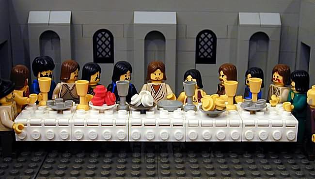 A-Lego-last-supper
